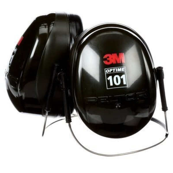3M Aust EAR MUFF 3M PELTOR H7B NECKBAND BLACK/GREEN CLASS 5 SLC80 28dB   -  New not yet carried
